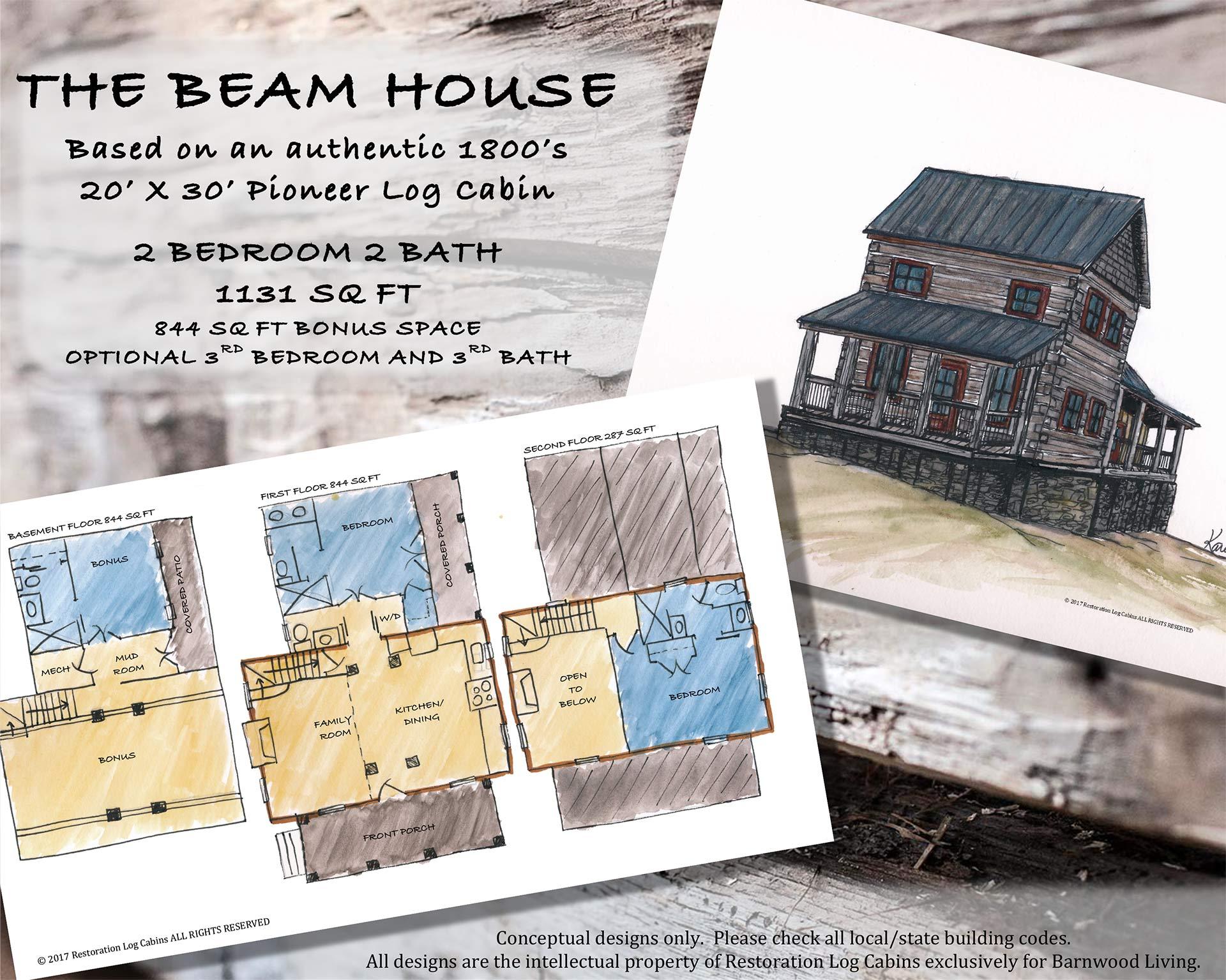 BEAM HOUSE LAYOUT