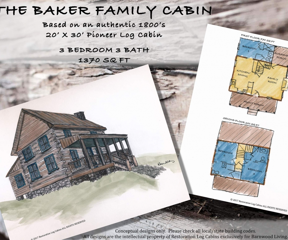 Baker Cabin Layout