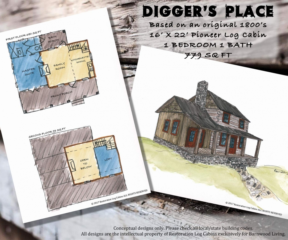 DIGGERS PLACE PAGE LAYOUT