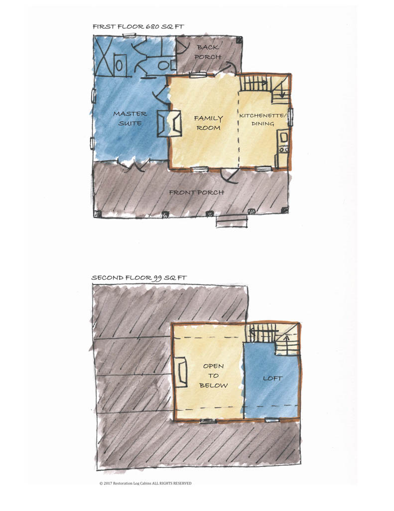 DIGGER'S PLACE PLAN LABLED