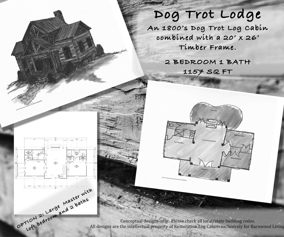 Dog Trot Lodge Layout