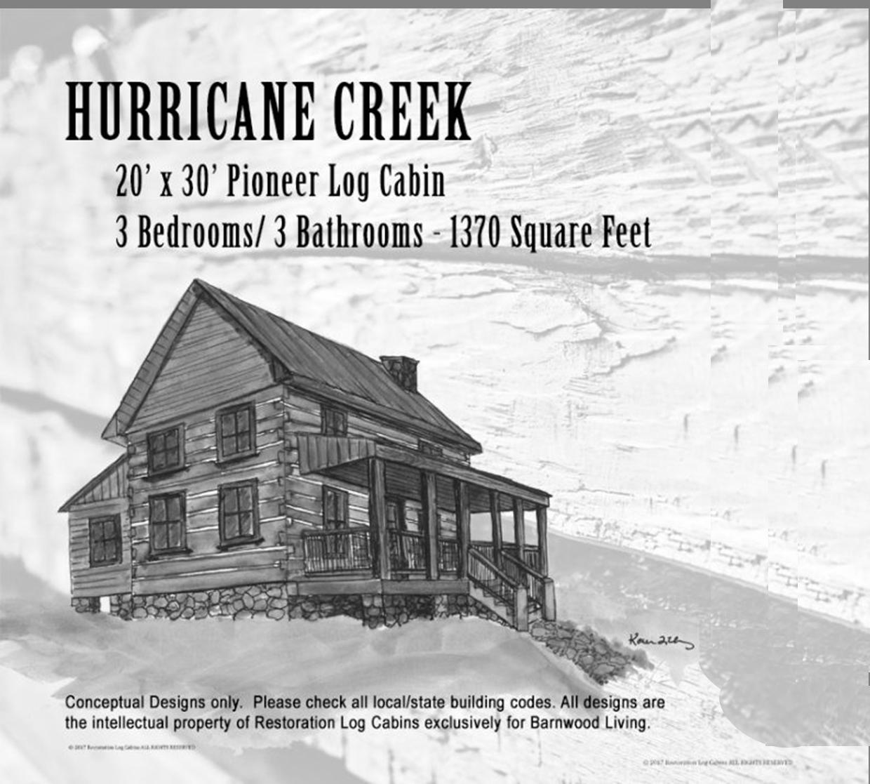 Hurricane creek front