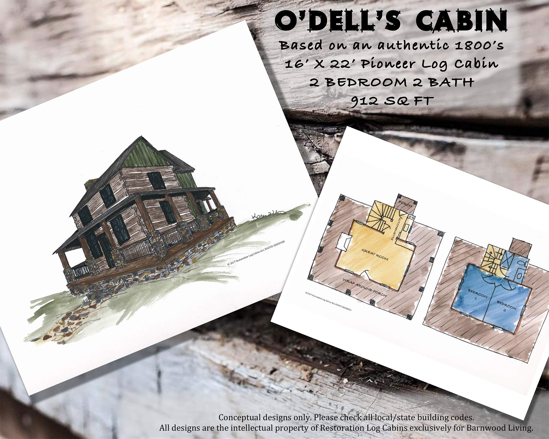 O'Dell's Cabin Layout