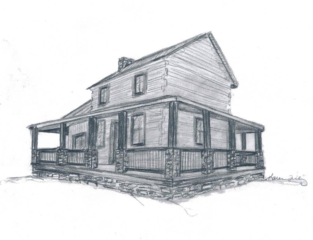 Full Wrap Porch Elevation