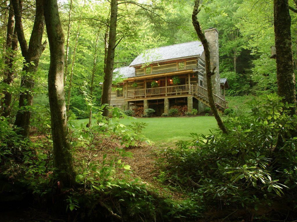 sleepy creek cabin front